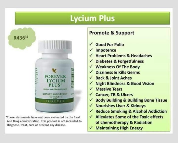 BLOCKED FALLOPIAN TUBES AND FOREVER LIVING PRODUCTS